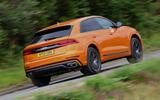 3 Audi SQ8 2021 UK FD hero rear