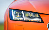 Audi TT Coupe 2019 UK first drive review - headlights