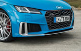 Audi TTS 2018 first drive review front end