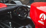 Ariel Atom 4 - Britain's Best Driver's Car 2020 - interior