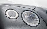 Bentley Bentayga Speed 2019 UK first drive review - headlights