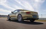 3 Bentley Continental GT Speed 2021 UK FD hero rear