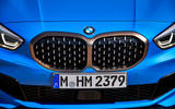 BMW 1 Series M135i 2019 first drive review - front grille