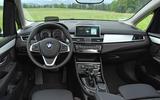 BMW 2 Series Active Tourer 2018 review interior