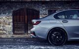 BMW 3 Series 330e hybrid 2019 first drive review - rear end