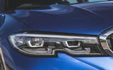 BMW 3 Series Touring 320d 2019 UK first drive review - headlights