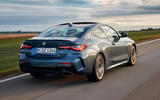 BMW 4 Series 2020 first drive review - hero rear