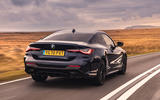 BMW 420i Coupe 2020 UK first drive review - hero rear
