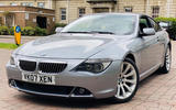 BMW 650i Coupe - front