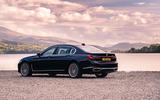 BMW 7 Series 730Ld 2019 UK first drive review - static rear