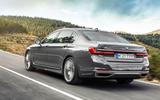 BMW 7 Series 750Li 2019 first drive review - hero rear