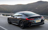 BMW 840d 2019 first drive review - hero rear