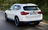 BMW iX3 2020 first drive review - hero rear