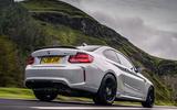 BMW M2 CS 2020 UK first drive review - hero rear
