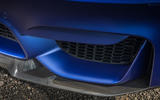 BMW M3 CS 2018 review front splitter