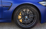 BMW M3 CS 2018 UK first drive review alloy wheels