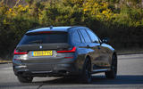 BMW 3 Series Touring M340i 2020 UK first drive review - tracking rear