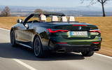 3 BMW M440i Convertible 2021 first drive review hero rear