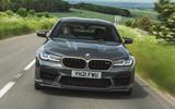 3 BMW M5 CS 2021 UK FD hero nose