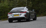 BMW M8 Gran Coupe 2020 UK first drive review - hero rear