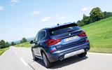 BMW X3 xDrive30e 2020 first drive review - hero rear