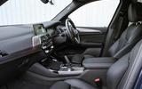 BMW X3 xDrive30e 2020 UK first drive review - cabin