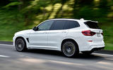 BMW X3 M Competition 2019 first drive review - hero rear