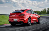 BMW X4 M Competition 2019 first drive review - hero rear