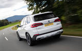BMW X5 xDrive 45e 2019 UK first drive review - hero rear