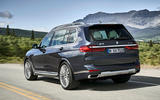 BMW X7 2019 first drive review - hero rear