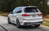 BMW X7 M50i 2020 first drive review - hero rear