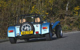 Caterham Super Seven 1600 2020 UK first drive review - hero rear