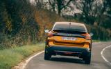 Citroen C4 Puretech 2021 UK (LHD) first drive review - hero rear