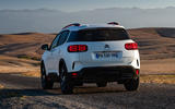 Citroen C5 Aircross 2018 first drive review - hero rear
