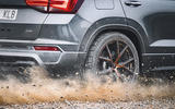 Cupra Ateca 2018 prototype first drive review alloy wheels