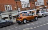 Dacia Duster 2019 long-term review - hero rear