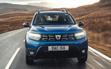 3 Dacia Duster diesel 4x4 2021 UK first drive review hero nose