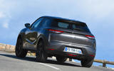 DS 3 Crossback 2019 first drive review - hero rear