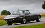 3 E Type Unleashed V12 2021 UK First drive review hero rear