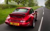 3 Everrati Porsche 964 2021 UK FD hero rear