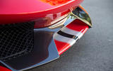 Ferrari 488 Pista 2018 review front splitter