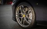 Ferrari Roma 2021 UK first drive review - alloy wheels