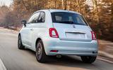 Fiat 500 hybrid launch edition - rear