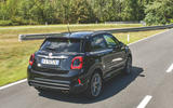 Fiat 500x Sport 2019 first drive review - hero rear