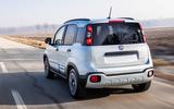 Fiat Panda Cross Hybrid 2020 first drive review - hero rear