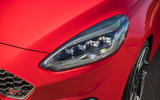 Ford Fiesta ST 2018 review headlights