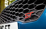 Ford Fiesta ST 2018 UK first drive review grille