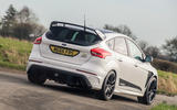 Ford Focus RS Mountune M520 2020 UK first drive review - hero rear