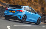 3 Ford Focus ST Edition 2021 UK FD hero rear