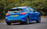 Ford Focus ST-Line 182PS 2018 UK first drive review - hero rear